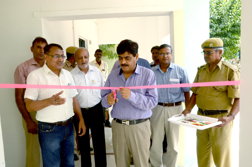 Inauguration of security office
